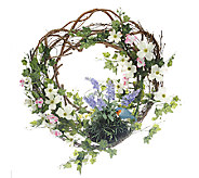 Welcome Friends Spring Wreath by Valerie - H201451