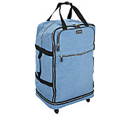 As Is Biaggi Zip Sak 31 Foldable Luggage by Lori Greiner - H207051