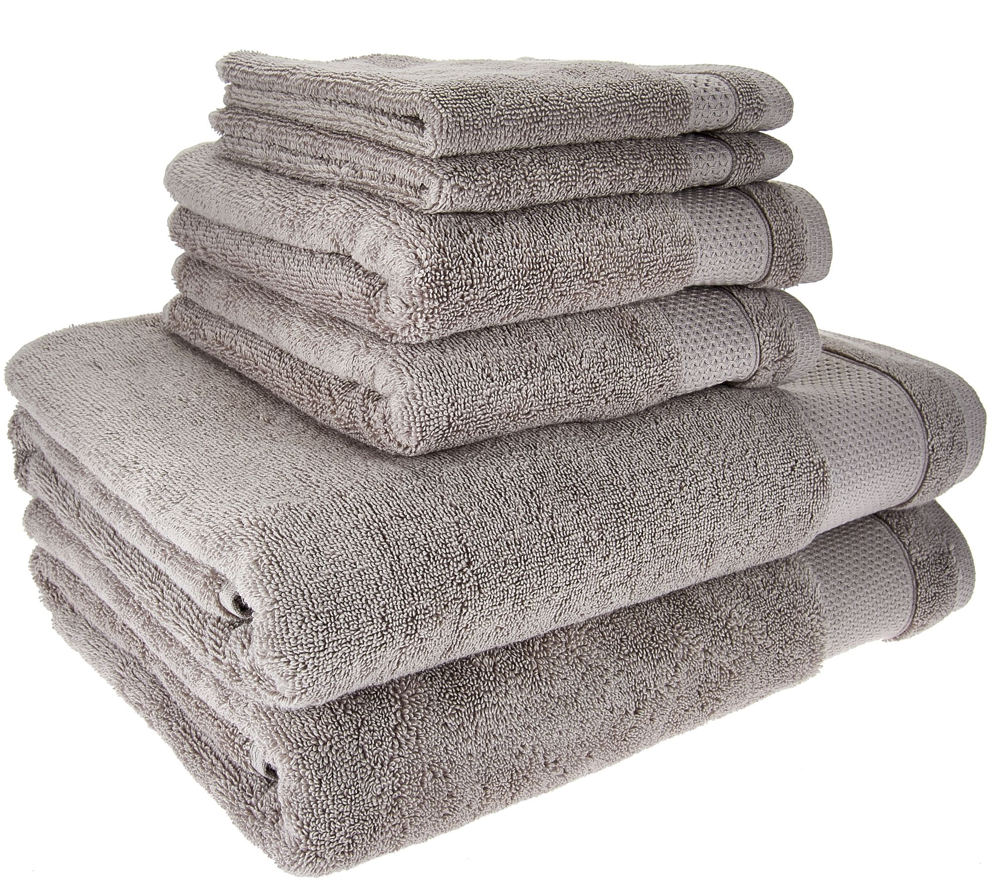 Scott Living 100% Hygro Cotton 6 Piece Towel Set   Page 1 U2014 QVC.com