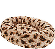 Dennis Basso Small 24 Faux Fur Oval Bolster Pet Bed - H213351