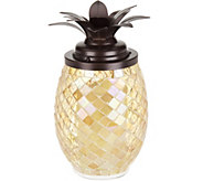 Lightscapes 11 Mosaic Pineapple with Flameless Candle - H214751