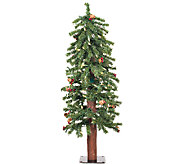 3 Prelit Frosted Alpine Berry Tree by Vickerman - H286651