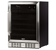 NewAir 177-Can Deluxe Beverage Cooler - Stainless Steel - H296151
