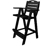 POLYWOOD Nautical Bar Chair - H349851