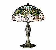 Tiffany Styled 22H Cabbage Rose Lamp - H58151