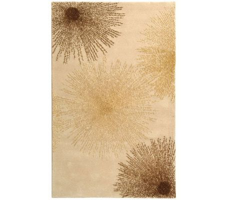 Soho 5' x 8' Abstract Handtufted Wool/Viscose Blend Rug - H178552