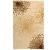 Soho 5 x 8 Abstract Handtufted Wool/Viscose Blend Rug - H178552