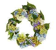 Welcome Friends Summer Wreath by Valerie - H201452