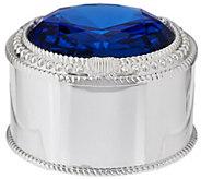 Judith Ripka Round Trinket Box - H207552