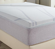Comfort Evolution 3 Twin Aerus Gel Memory Foam Topper - H209252