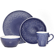 Pfaltzgraff Everyday Dolce Colbalt 16-pc Dinnerware set - H285452