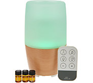 HoMedics Ellia Reflect Aroma Diffuser W Oils & Sounds & Remote - H290152