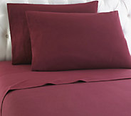 Shavel Micro Flannel(R) Solid Color California King Sheet Set - H290452