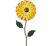 Design Toscano Large & Lucky Floral Pinwheel Garden Sculpture - H291652