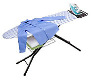 Honey-Can-Do Quad-Leg Ironing Board with DeluxeIron Rest - H356452