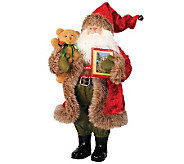 Santa with Teddy Bear by Santas Workshop - H362952