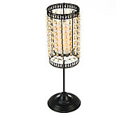 Candle Impressions Convertible Tabletop Beaded Candle Lamp - H200153
