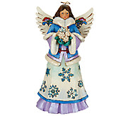 Jim Shore Winter Wonderland Angel Figurine - H206553