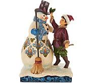 Jim Shore Heartwood Creek Victorian Collection Snowman - H212153