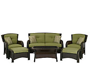 Hanover Strathmere 6-Piece Patio Seating Set - H280853
