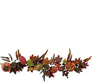54 Pumpkin & Gourd Garland by Nearly Natural - H293853