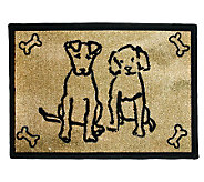 Dog Friends 19x27 Tapestry Rug - H349253