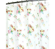 Watershed 2-in-1 Fairy Luv 72x72 Shower Curtain - H349353