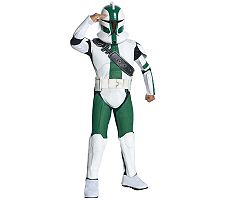 Star Wars The Clone Wars Clone Trooper Commander Child Costume