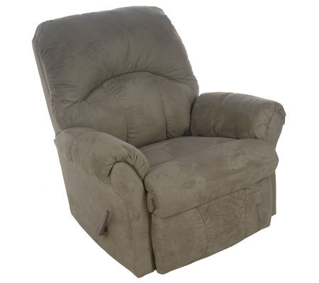 Franklin Super Suede Ultra Comfort Rocker Recliner