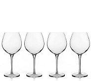 Luigi Bormioli 22.5 oz Bourgogne Wine Glasses -Set of 4 - H172554
