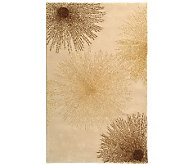 Soho 6 x 9 Abstract Handtufted Wool/Viscose Blend Rug - H178554