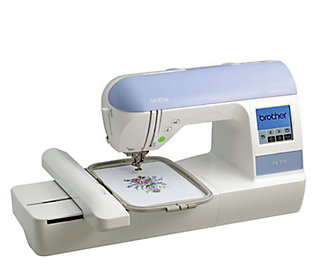Brother PE770 Embroidery Machine  QVC