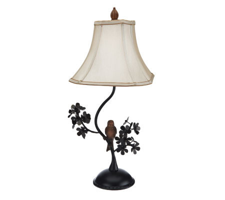 "Home Reflections Perched Bird 27"" High Table Lamp"