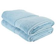 Northern Nights Essentials S/2 600GSM Micro-Cotton Bath Sheets - H200654