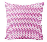 As Is Liz Claiborne New York Wicker Set of 2 18x18 Accent Pillows - H206754