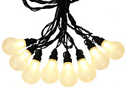 As Is Bethlehem Lights 19 Plug In Vintage Light Strand - H208254