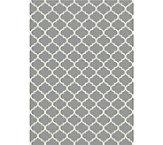 Ruggable Moroccan Trellis 5x7 2pc Washable Rug System - H212854