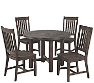 Home Styles Outdoor Concrete Chic 5-Piece Dining Set - H284354