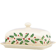 Lenox Holiday Covered Butter Dish - H284454