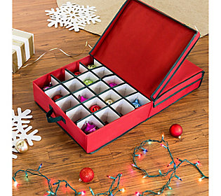 Honey-Can-Do Large Adjustable Ornament Storage