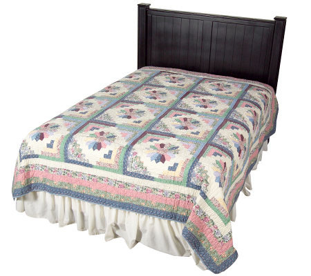 Carnivale Handcrafted 100% Cotton Full/Queen Quilt