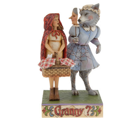 Jim Shore Heartwood Creek Little Red Riding Hood Figurine