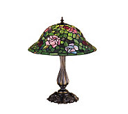 Tiffany Style 20 Rose Bush Table Lamp - H122455