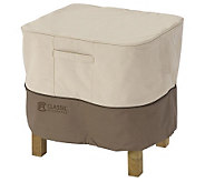 Veranda Square Ottoman/Table Cover-Lrg-by Classic Accessories - H149355