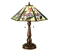 Tiffany-Style Calla Lily Hex Table Lamp - H159755