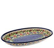 Lidias Polish Pottery Serving Platter - H202555