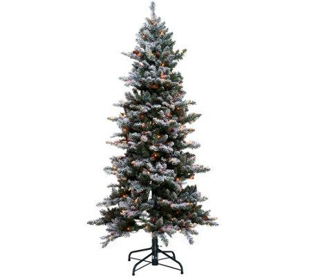 Bethlehem Lights 6.5' Woodland Pine Christmas Tree w ...