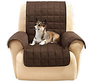 Sure Fit Furniture Cover Recliner with Memory Foam Seat - H209455