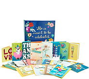 Hallmark 24ct Handcrafted Embellished Greeting Card Boxed Set - H210555