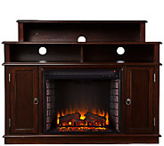 Monroe Media Stand Electric Fireplace Espresso - H282455